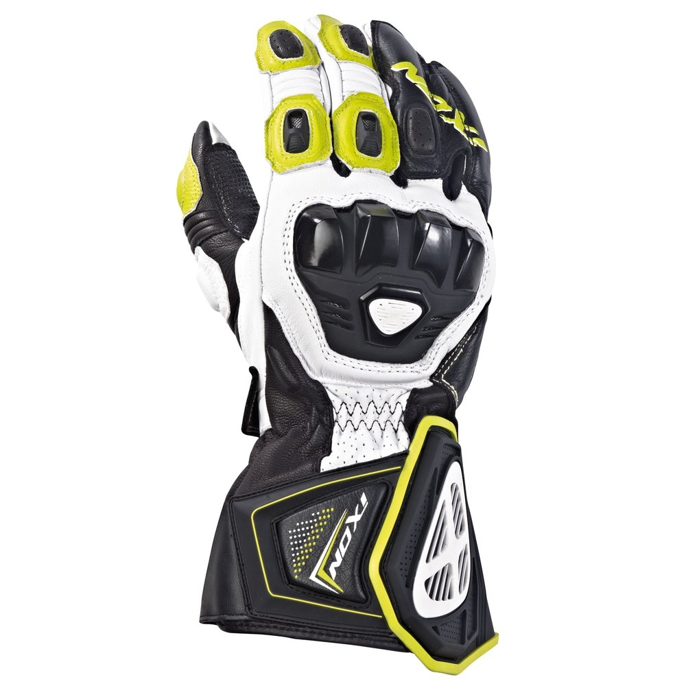 gants rs pro hp racing homme noir jaune vif ixon moto magasin ixon. Black Bedroom Furniture Sets. Home Design Ideas