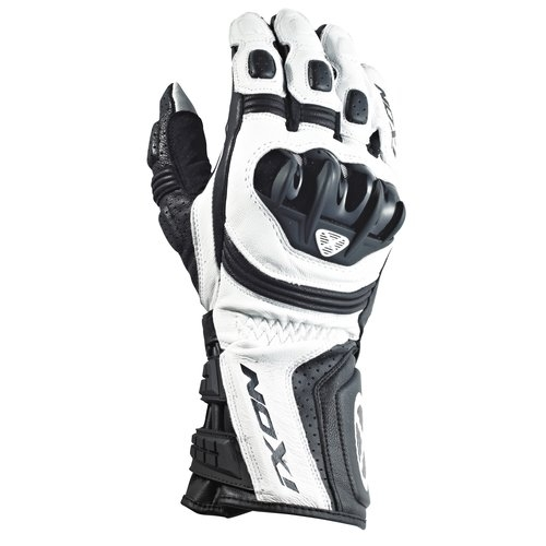 gants rs moto hp racing homme blanc ixon moto magasin ixon. Black Bedroom Furniture Sets. Home Design Ideas