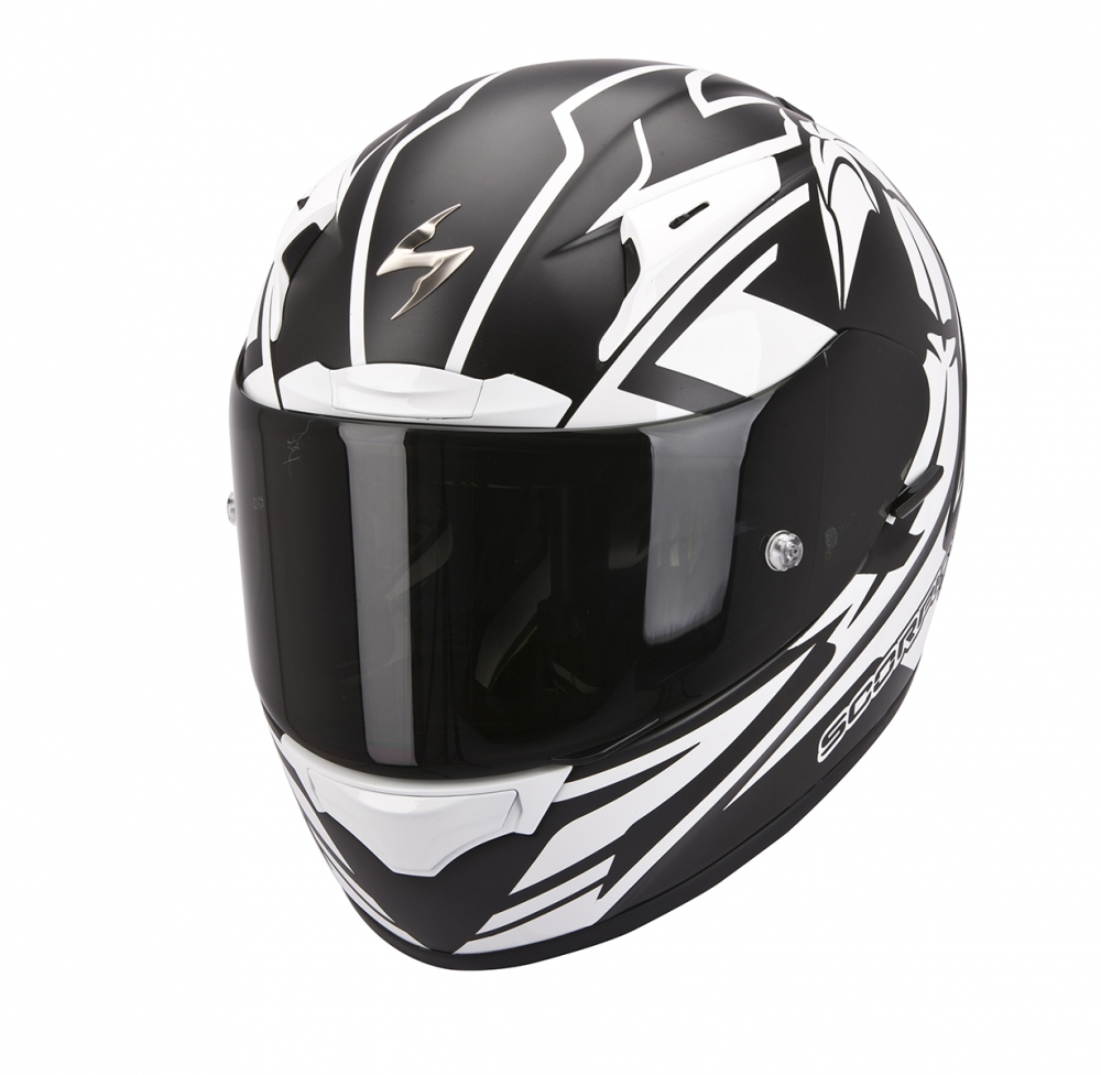 casque scorpion exo 2000 track blanc scorpion moto magasin scorpion. Black Bedroom Furniture Sets. Home Design Ideas
