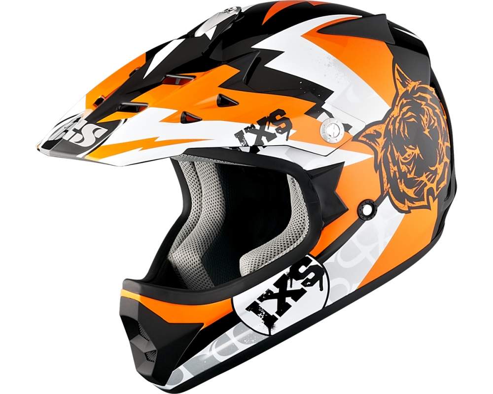 Casque hx 278 tiger noir orange blanc ixs moto magasin ixs - Tiger boutique en ligne ...