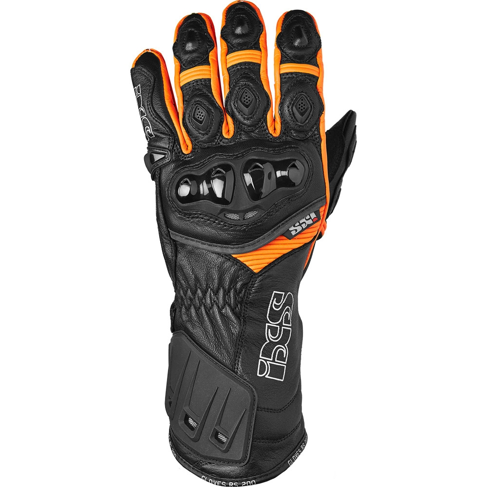 gants rs 200 noir orange ixs moto magasin ixs. Black Bedroom Furniture Sets. Home Design Ideas