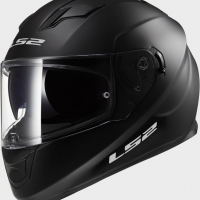 Casque FF 320 Solid Matt Black LS2