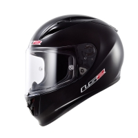 Casque FF 323 Solid Matt Black LS2
