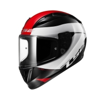 Casque FF 323 Comet Black White Red LS2