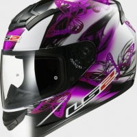 Casque FF 352 Flutter White Purple LS2