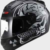 Casque FF 352 X Ray Matt Black LS2