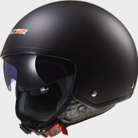 Casque OFF 561 Solid Matt Black LS2