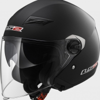 Casque OFF 569 Solid Matt Black LS2