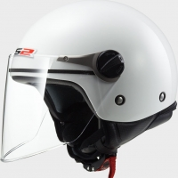 Casque OF 575 Enfant Wuby Solid White LS2