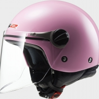 Casque OF 575 Enfant Wuby Solid Pink LS2
