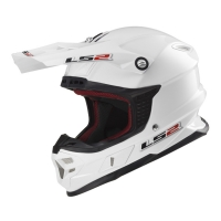 Casque MX 456 Solid White LS2