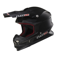 Casque MX 456 Solid Matt Black LS2