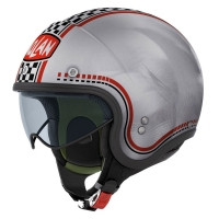Casque N21 Lario Scratched Chrome 4 Nolan
