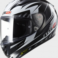 Casque FF 323 Matrix Black LS2