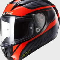 Casque FF 323 Burner Red LS2