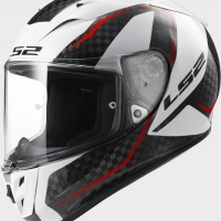 Casque FF 323 Arrow Fury Carbon White LS2