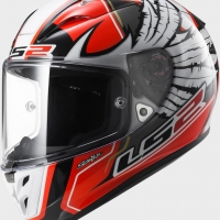 Casque FF 323 Arrow Replica Hernandez LS2