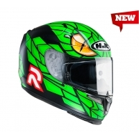 Casque Rpha 10 Plus Green Mamba Mc4sf Hjc
