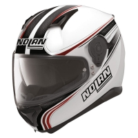 Casque N87 Rapid Metal White 17 Nolan
