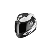 Casque Scorpion EXO 1000 Sublim Noir/Blanc Scorpion