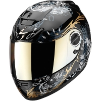 Casque Scorpion EXO 750 Air Battle Lord Noir Scorpion