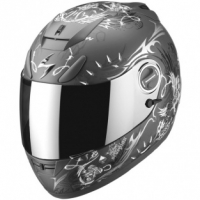Casque Scorpion EXO 750 Air Battle Lord Gris Scorpion