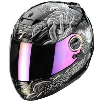Casque Scorpion EXO 750 Air Cobra Noir Cameleon Scorpion
