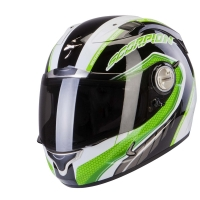 Casque Scorpion EXO-1000 AIR PIPELINE Noir/Vert Scorpion