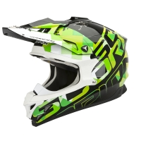 Casque Scorpion VX15 Grid Vert Scorpion
