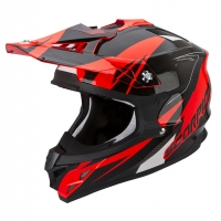 Casque Scorpion VX15 Krush Rouge Scorpion