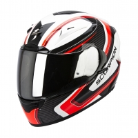 Casque Scorpion EXO 2000 Carb Rouge Scorpion