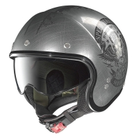 Casque N21 Speed Junkies Scratched Chrome 32 Nolan