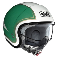 Casque N21 Tricolore Metal White 31 Nolan