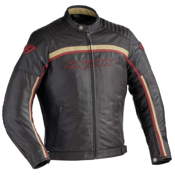 Blouson Piston Marron Ixon
