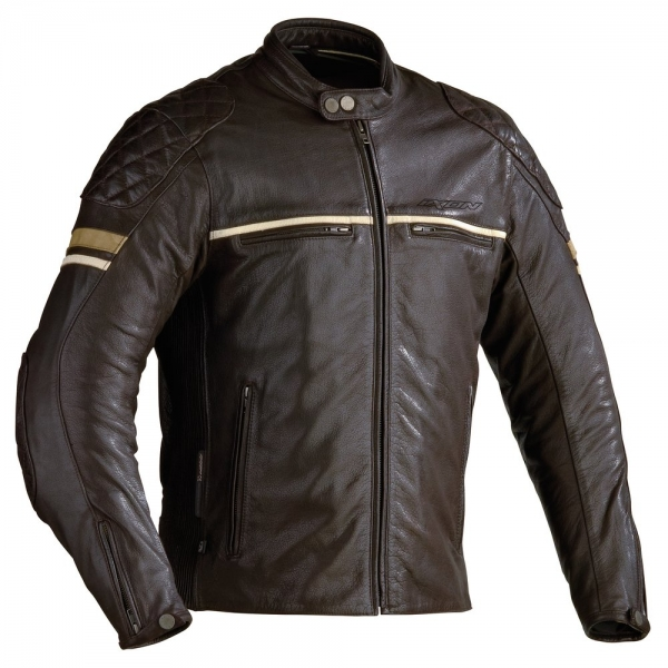 Blouson Motors Marron Ixon