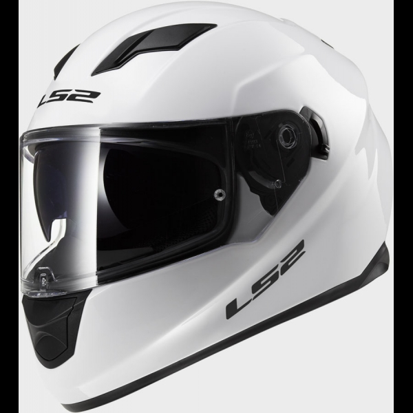 Casque FF 320 Solid White LS2