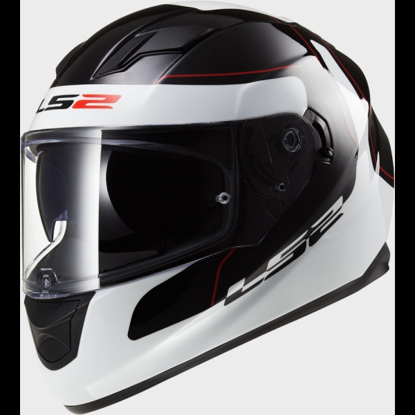 Casque FF 320 Lunar Black White LS2