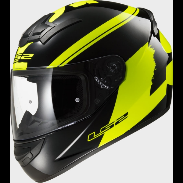 Casque FF 352 Fluo Black Hi Vis Yellow LS2