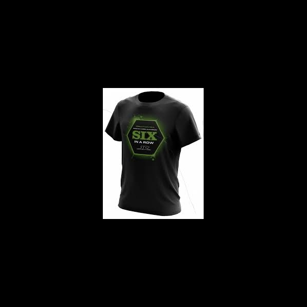 T-SHIRT JONATHAN REA CELEBRATION 2020: 6 IN A ROW PANIER Kawasaki