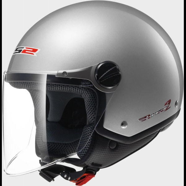 Casque OFF 560 Solid Silver LS2