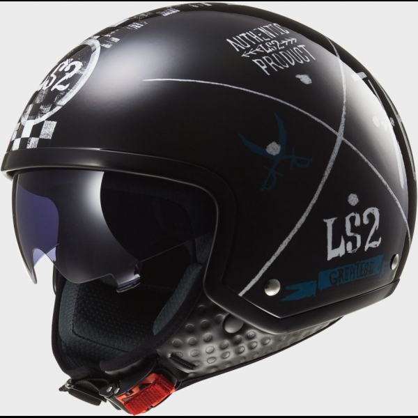 Casque OFF 561 Greatest Black LS2