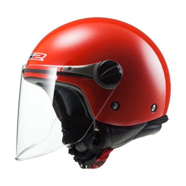 Casque OF 577 Enfant Wuby Solid Red LS2