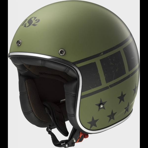Casque OFF 583 Kurt Matt Military Green LS2