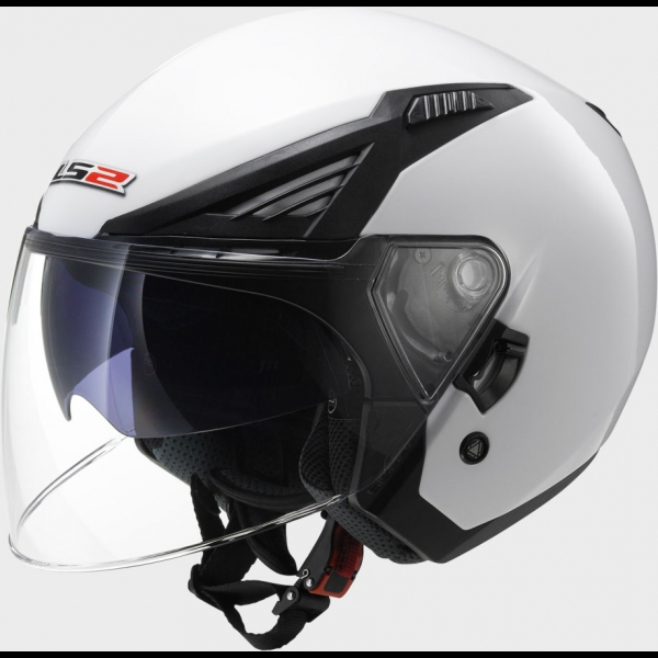 Casque OFF 586 Solid White LS2