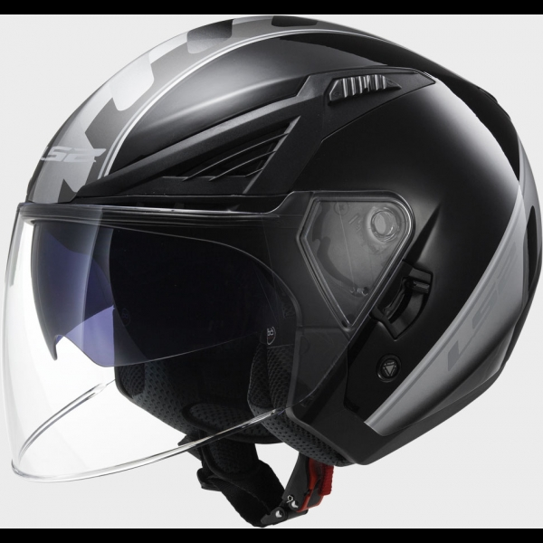 Casque OFF 586 Atom Black Titanium LS2