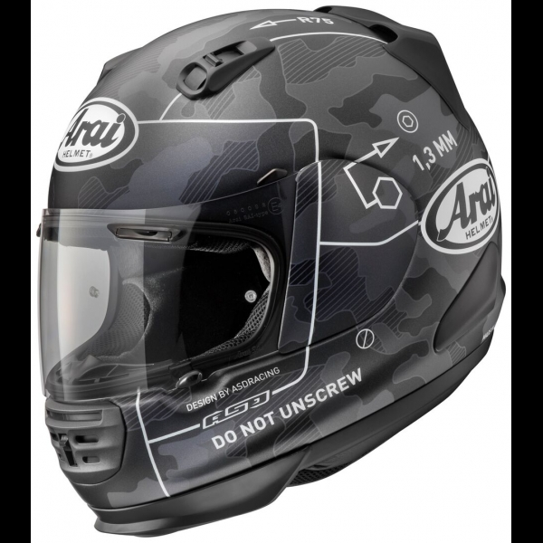 Casque ARAI REBEL CAMMAND BLACK  2016 Arai