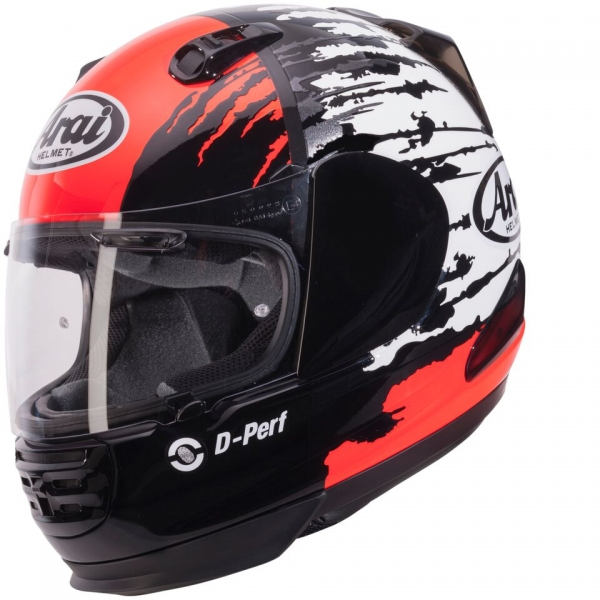 Casque ARAI REBEL SPLASH RED 2016 Arai