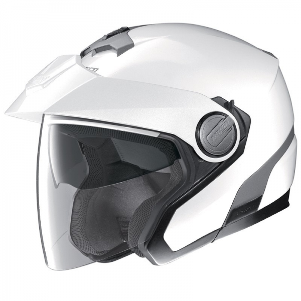Casque N40 Full Metal White 18 Nolan
