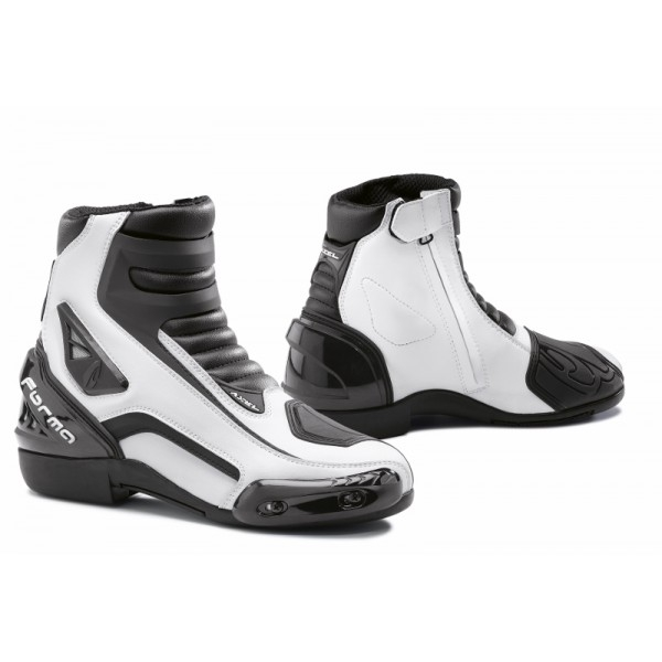 Bottes Racing Axel Blanche Forma