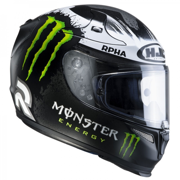 Casque Rpha 10 Plus Lorenzo Ghost Fuera Hjc